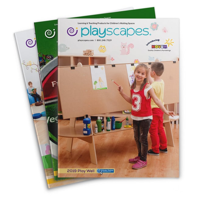 Catalogue cover design for Playscapes