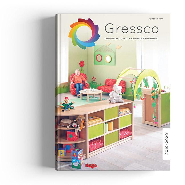 Catalogue cover design for Gressco