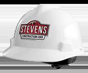 Hard hat design for Steven's Construction