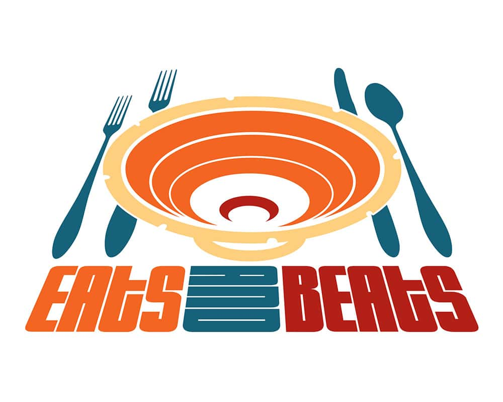Eats and Beats logo design