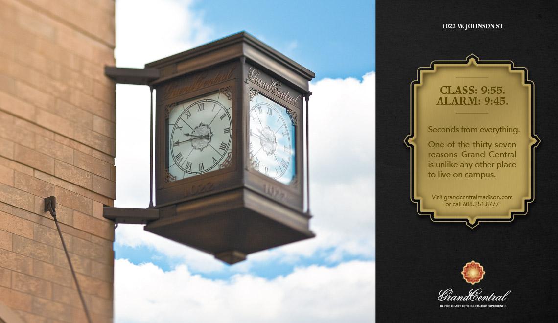Grand Central print ad