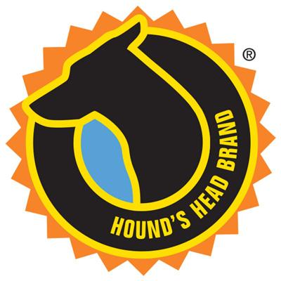 Hounds Head full color logo design