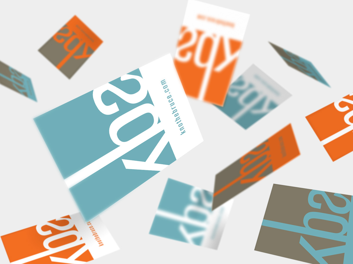 KBA business card design