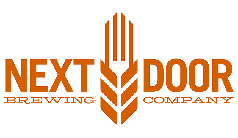 Next Door Brewing Company logo design